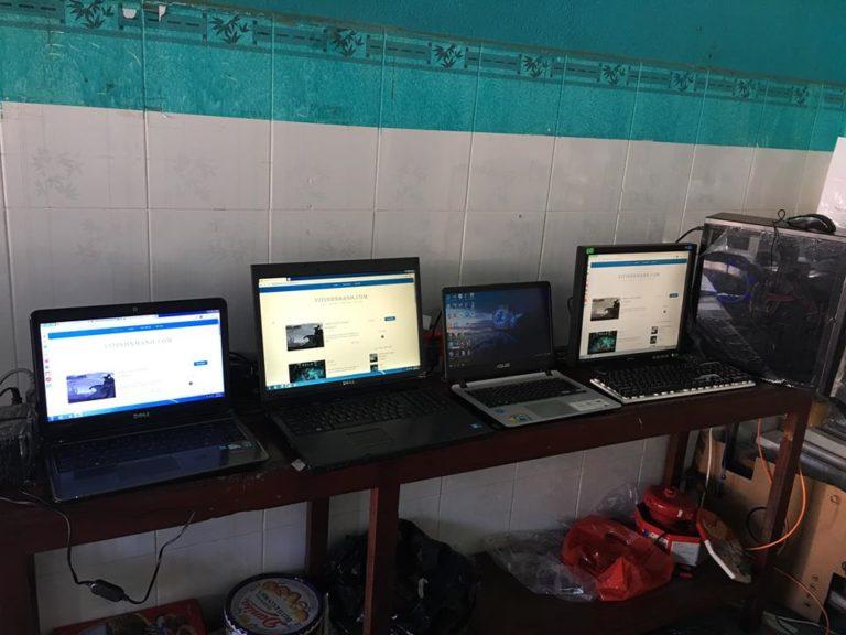 máy tính bàn, PC, laptop