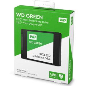 SSD 480Gb Western Digital Green Sata 3 Chính Hãng