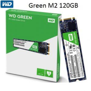SSD M2 120Gb Western Digital Green Sata 3 Chính Hãng