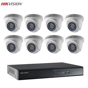 Bộ 8 Camera 1MP Hikvision Chính Hãng